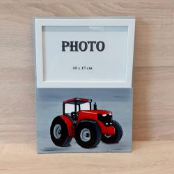 Tableau photo Tracteur rouge